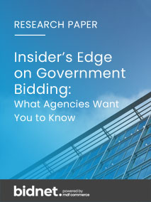 INSIDER'S EDGE ON GOVERNMENT CONTRACTS BIDDING: What Government Agencies Want You to Know